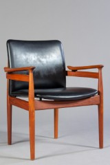 Finn Juhl, lounge chair, model FD 192, fremstillet hos France & Søn