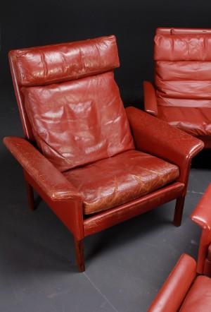 m bel hans olsen 1919 1992 sofagruppe leder 5 dk roskilde store hedevej. Black Bedroom Furniture Sets. Home Design Ideas