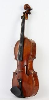 An Italian 4/4 violin with testimonial from Emil Hjort
