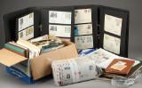 Samling kuverter og frimærker fra hele verden (3)