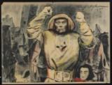 Theo Matejko. Figurkomposition. Vintage plakat