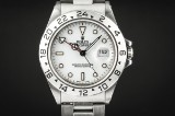 Rolex Explorer II, Creme Rail dial. Men's watch, ref. nr. 16570