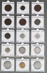 Samling England, Australien, British India, East Africa, inklusive Guld Soverreign 1900, 79881 gram (15)