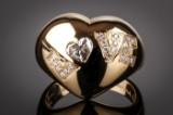 Chopard Love diamond ring, 18 kt. gold