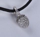 Ole Lynggaard. 'My Little World' diamond charm, 18 kt. white gold