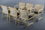 Rud Thygesen & Johnny Sørensen: Six armchairs from the King Series (6)