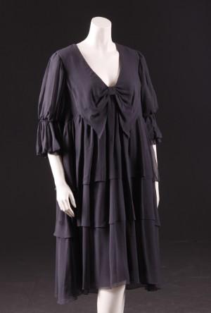 3f86ab83918a Malene Birger kjole i sort silke str. 44