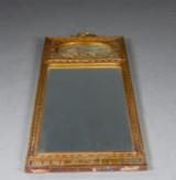 Spejl af forgyldt træ i Louis XVI stil, ca. 1910
