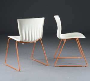 Christian Flindt. Fire stole model Ripple Chair. |