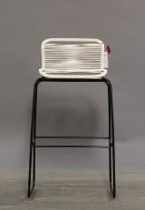 Verner Panton. VP ONE barstol i farve NEW White