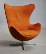 Arne Jacobsen, lounge chair, The Egg, model 3317, with tilt, c. 1965