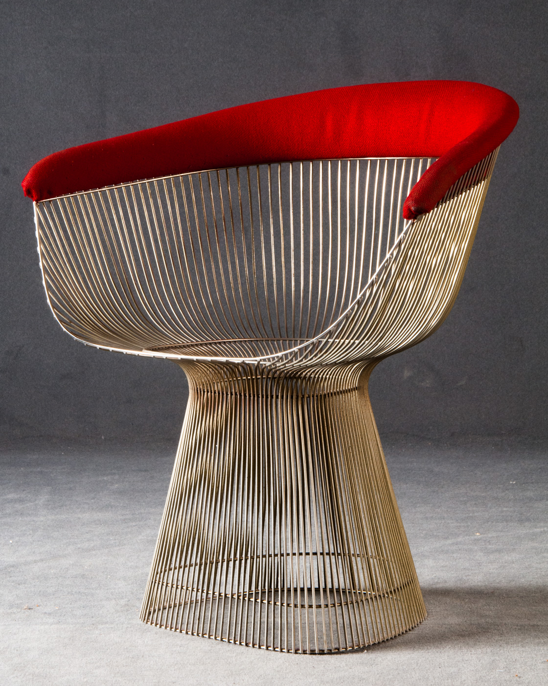 Warren Platner, Wire Chair / Lounge Sessel Modell 1725A Für Knoll  International