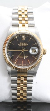 Rolex oyster perpetual Datejust with box and papers