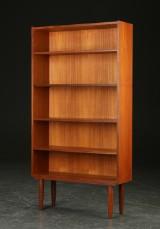 Reol af teak, 1950'erne, dansk møbelproducent