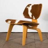 Charles & Ray Eames, stol/lounge chair LCW, ask/koskind, fremstillet hos Vitra