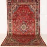 Hamedan. Persisk håndknyttet tæppe, 365x200 cm.