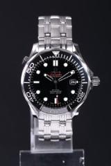 Omega Seamaster Professional 300m Co-Axial Chronometer, herrearmbåndsur af stål