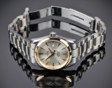 Omega 'Seamaster Aqua Terra' men's watch, 18 kt. gold and steel, c. 1998