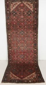 Persisk handknuten gallerimatta Hamedan mått  320x110