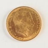 Danmark. 20 kroner guldmønt 1913.