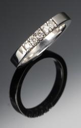 Diamond ring. 0.30 ct.