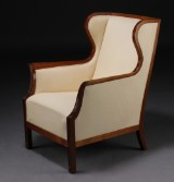 Attributed to Frits Henningsen, wing chair, c. 1940