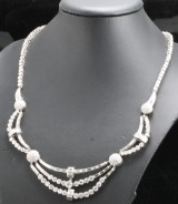 18kt diamond collier approx. 12.00ct