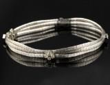 Vintage armbånd med diamanter