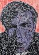Mirko Blum 'Andy Warhol' Acryl auf Leinwand 2019