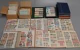Samling frimærker, Island, Finland, Åland, Norge, Sverige m.fl.