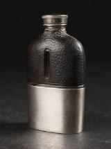 Engelsk lommelærke af sølv.