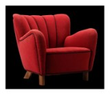 Fritz Hansen. Lounge chair, model 1669