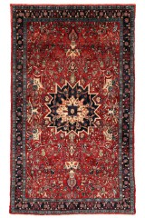 Persisk Bidjar tæppe, 233 x 135 cm.