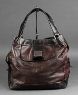 Kenneth Cole hobo taske af brunt skind