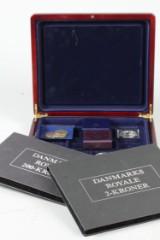 Samling jubilæumsmønter og sølvmedaljer. (3)