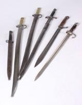 Samling bajonetter (9)
