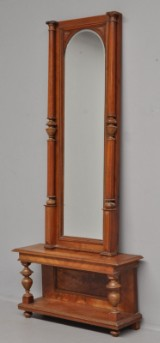 Sejl med konsol, mahogni, 1800-tallets slutning(2)