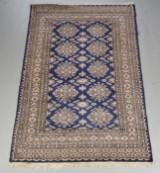 Orientalsk tæppe Silke på bomuld 190X123 cm.