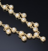 AYA. diamond necklace, 18 kt. gold, Diamonds, total approx. 1.75 ct