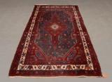 Orientmatta, handknuten 123x217 cm