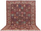 Carpet, semi-antique, Baktiari, Persia, 470 x 332