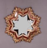 Spegel i form av en stjärna