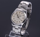 Rolex 'Air-King'. Vintage men's watch, steel with pale dial, c. 1965