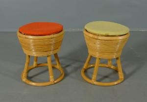Pallar i bambu, 1970-tal 2