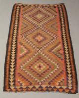 Harsin Kilim tæppe, 245 x 140 cm.