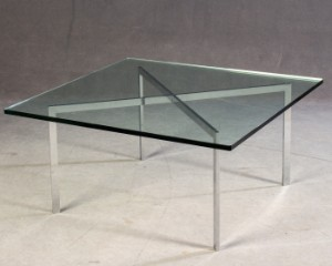 Ludwig Mies Van Der Rohe Coffee Table Modell Barcelona Von Knoll