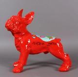 Hannes D'Haese. 'French B Dog' skulptur.