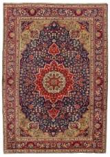 Persisk handknuten matta, Täbriz, 303x210 cm