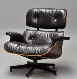 Charles Eames. Vintage Lounge Chair, Brazilian rosewood