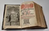 Die Kurfürstenbibel / Biblia, Das ist: Die gantze H Schrifft, Altes und Neues Testaments Teutsch/ Doctor Martin Luthers, år 1692